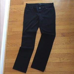 Ann Taylor Stretch Knit Jeans, Black - New 🎈
